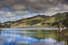 Uvas Reservoir Stock Photo