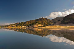Uvas Reservoir Reflection Royalty Free Stock Photos