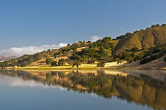 Uvas Reservoir Reflection Royalty Free Stock Images