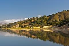 Uvas Reservoir Reflection Royalty Free Stock Images