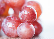 Uvas rojas Foto de archivo libre de regalías