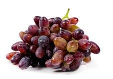 Uvas rojas sabrosas dulces Imagenes de archivo