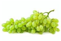Uvas verdes. Imagem de Stock