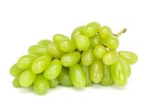 Uvas verdes frescas Imagem de Stock