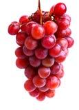 Uvas vermelhas deliciosas Fotografia de Stock