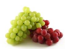 Uvas vermelhas e verdes Imagens de Stock