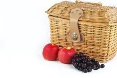 Uvas y manzanas imagen de archivo libre de regalías