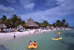 Uvero Beach3 Royalty Free Stock Photography