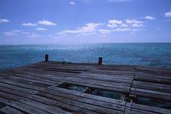 Uvero Pier Stockfotografie