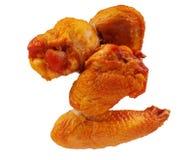 uwędzeni kurczaków skrzydła Zdjęcie Stock