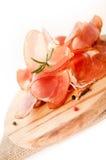 Uwędzeni mięso plasterki Zdjęcie Royalty Free