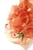 Uwędzeni mięso plasterki Obraz Stock