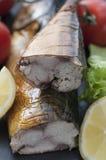 Uwędzona makrela Zdjęcia Royalty Free