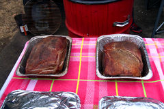 Uwędzona piec wieprzowiny pieczeń dla ciągnącej wieprzowiny Fotografia Royalty Free