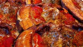 Uwędzona ryba z pikantność Zdjęcie Royalty Free