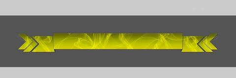 Uwędzony chodnikowa kolor żółty Obrazy Royalty Free