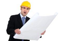 Uwłaczający inżynier zdjęcie stock