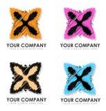Uw Bedrijf Logo Designs Royalty-vrije Stock Afbeeldingen