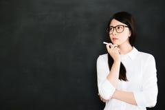 Uw beste leraar is uw laatste fout Stock Afbeelding
