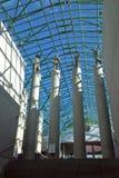 UW bibliotheek in Warshau Stock Fotografie