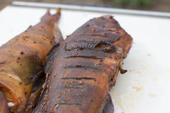 Uwędzona makrela Zdjęcie Stock