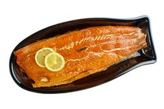 Uwędzona ryba Obrazy Stock