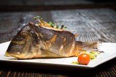 Uwędzona ryba Fotografia Stock