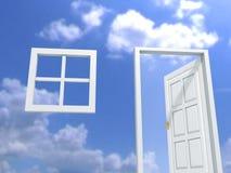 Uw huis en uw droom Stock Afbeelding