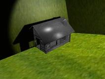 Uw huis in green Stock Foto's
