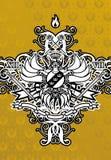 Uw Koninkrijk (Achtergrond) stock illustratie
