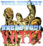 Uw land wenst u royalty-vrije illustratie