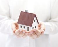 Uw nieuw huis Stock Foto