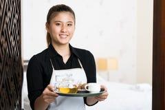 Uw ontbijt is klaar! Royalty-vrije Stock Fotografie