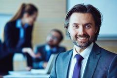 Uw persoonlijke manager Stock Foto