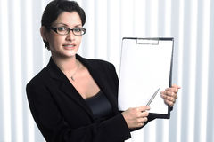 Uw secretaresse Stock Foto's