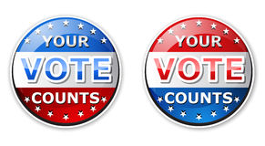 Uw stem Stock Fotografie