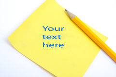Uw tekst hier Stock Afbeeldingen