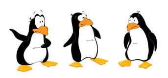 uważaj pingwiny 3 Obraz Royalty Free