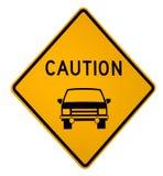 uwaga do przodu pojazdu zdjęcia stock