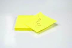 uwaga kija żółty Zdjęcie Royalty Free