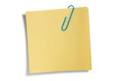 uwaga odosobnione pozostałą część żółty Obraz Stock