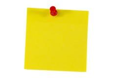 uwaga pin przyj pocztę Zdjęcie Stock