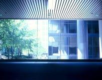 uwagi na miejskiego okno Zdjęcia Stock