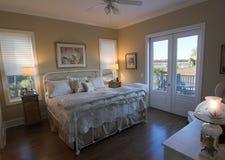 uwagi na nabrzeże sypialnia fotografia stock