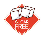 uwalnia cukier Zdjęcie Stock