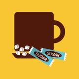 uwalnia cukier Zdjęcie Royalty Free
