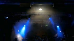 Uwalnia scenę z światłami przed koncertem zbiory