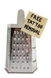 Uwalnia tatuażu usunięcie Obraz Royalty Free