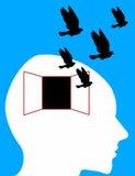 uwalnia umysł twój royalty ilustracja