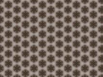 Uwarstwiający narzut z symetrycznym geometrycznym round wzorem obrazy stock